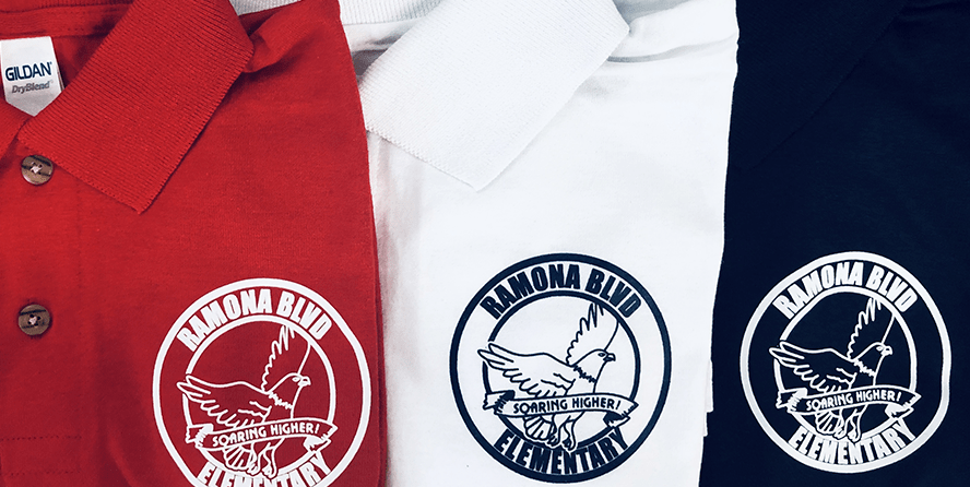 Total Impact Embroidery and Screen Printing School Uniforms